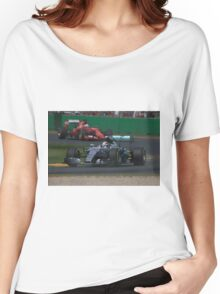 Lewis Hamilton & Sebastian Vettel Women's Relaxed Fit T-Shirt