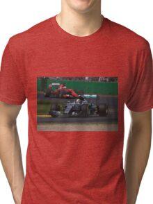 Lewis Hamilton & Sebatian Vettel Tri-blend T-Shirt