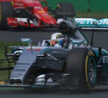 Lewis Hamilton & Sebatian Vettel Sticker