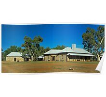 Alice Springs Telegraph Station Poster