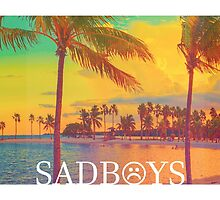 SADBOYS Beach (Large) by YungZEKE