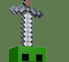 Creeper minecraft by Pretre Amelie