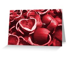 Hazel Nuts Greeting Card