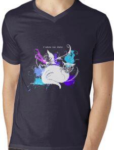 I love cats -white Mens V-Neck T-Shirt
