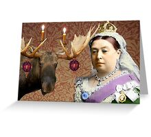 Albert we are not a Moose! Greeting Card