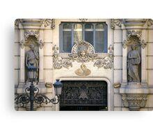 Madrid Sculptures Canvas Print