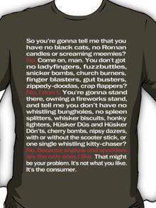 Fireworks - White Version T-Shirt