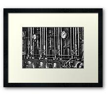 Big Bore B&W Framed Print