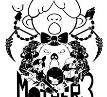 MOTHER 3 PORKY ARMY black ver. by deydez