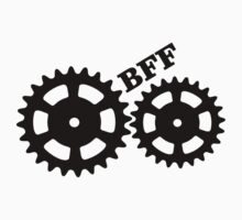 BFF Mechanism (black) One Piece - Short Sleeve
