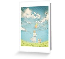 Millie's Journey : Boundless Sky Greeting Card