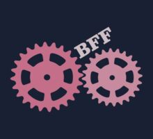 BFF Mechanism (pink) One Piece - Long Sleeve