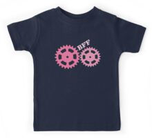 BFF Mechanism (pink) Kids Tee