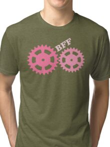BFF Mechanism (pink) Tri-blend T-Shirt