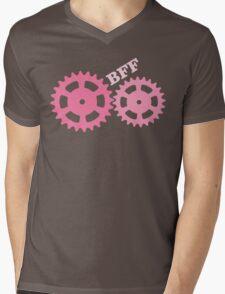 BFF Mechanism (pink) Mens V-Neck T-Shirt
