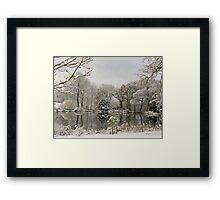 Private Lake Framed Print