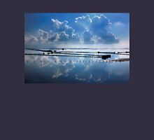Mirroring the clouds - Messolonghi lagoon Unisex T-Shirt