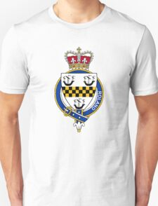 Coat of arms (family crest) for last-name or surname Roland or Rolland (Scotland) . Heraldry banner for your name. T-Shirt