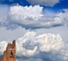 Ruined Byzantine Tower Sticker