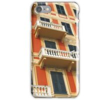 A Colourful Facade of Santa Margherita iPhone Case/Skin