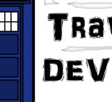 Pick your Time Travel Device! Sticker