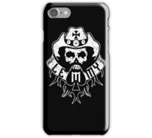 Lemmy Black iPhone Case/Skin
