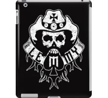 Lemmy Black iPad Case/Skin
