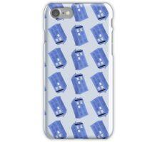 Tardis pattern, Doctor Who  iPhone Case/Skin
