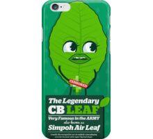 CB leaf aka Simpoh air leaf //Character design iPhone Case/Skin