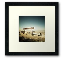 Lonely View Framed Print
