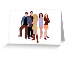The Original Scoobies Greeting Card