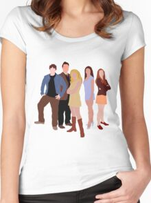 The Original Scoobies Women's Fitted Scoop T-Shirt