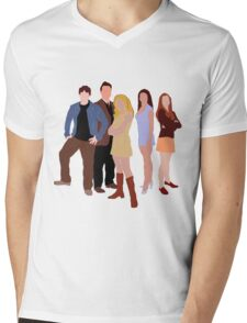 The Original Scoobies Mens V-Neck T-Shirt