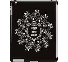 Keep Calm Ride A bike iPad Case/Skin