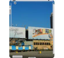Welcome Sign - Atlantic City iPad Case/Skin