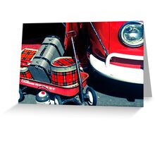 The Little Red Rocket  Greeting Card