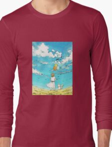 Millie's Journey : Boundless Sky Long Sleeve T-Shirt