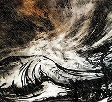 three sails up... stormy seas by banrai