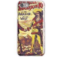 Vintage Buffalo Bill poster iPhone Case/Skin