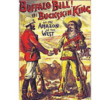 Vintage Buffalo Bill poster Photographic Print