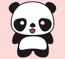 Kawaii Panda T Shirt Kids Tee