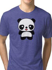 Kawaii Panda T Shirt Tri-blend T-Shirt