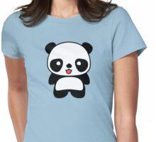 Kawaii Panda T Shirt Womens Fitted T-Shirt