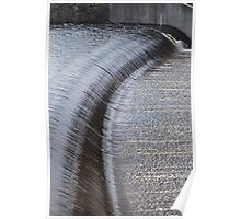 Lake Eppalock Spillway Side View Poster