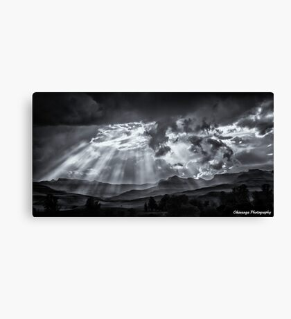Monochrome - Skyscape Canvas Print