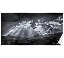 Monochrome - Skyscape Poster