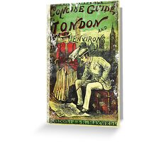 A Concise Guide To London vintage Dandy  Greeting Card