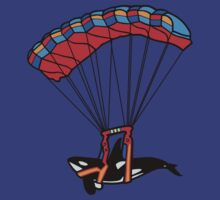 Flying Orca! by Mile High Mason Designs