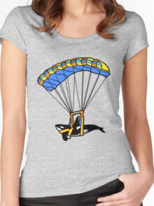 Flying Orca! Women's Fitted Scoop T-Shirt