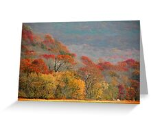 Top Of Autumn Greeting Card